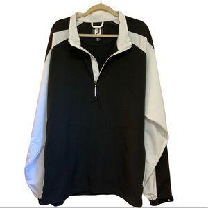 EUC FootJoy 1/4 Zip Golf Pullover Jacket size 2XL